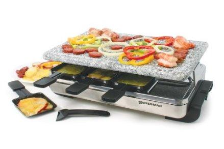 Swissmar-KF-77081-8-Person-Stelvio-Raclette-Cheap