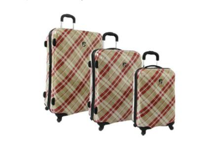 Heys Plaid Luggage
