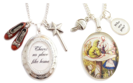 Literary Necklaces