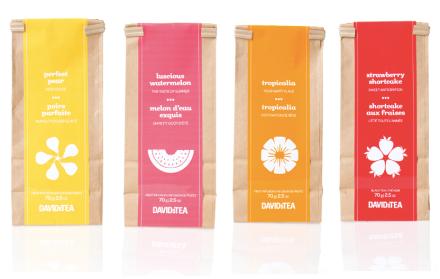 DAVIDsTEA Iced Tea Packs