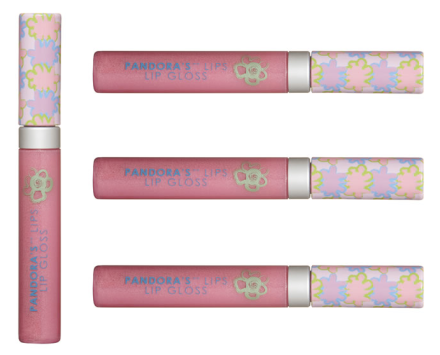 Pandora's Box Cosmetics I Am A Girl Lip Gloss Canadian Gift Guide