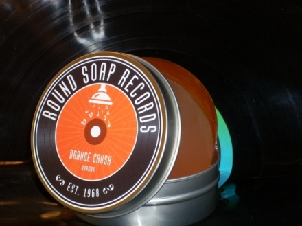 Round Soap Records Orange Crush Canadian Gift Guide