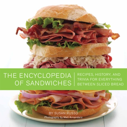 The Encyclopaedia of Sandwiches Cookbook Cover Canadian Gift Guide
