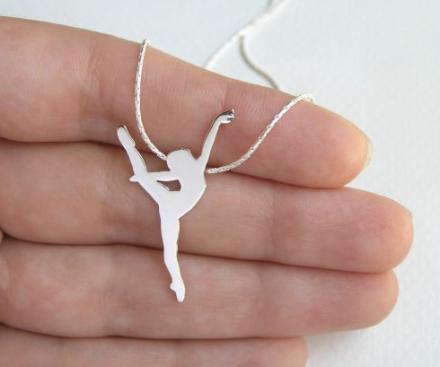 Dalia Shamir Ballet Necklace Canadian Gift Guide