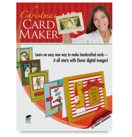 Dover Christmas Card Maker Kit