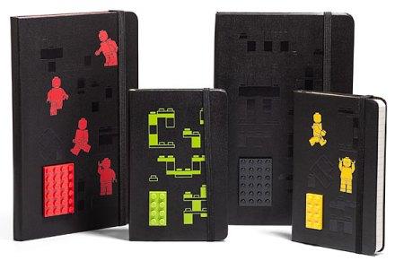 Moleskine Lego Notebooks Canadian Gift Guide