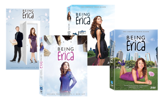 Being Erica DVD