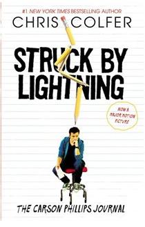 Chris Colfer Struck By Lightning