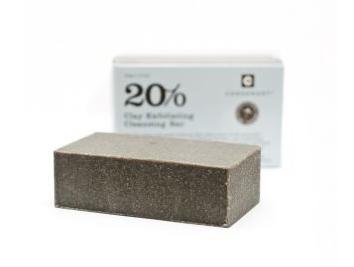 Consonant 20% Clay Exfoliating Cleansing Bar