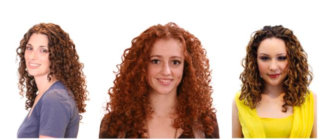 Curly Hair Gals