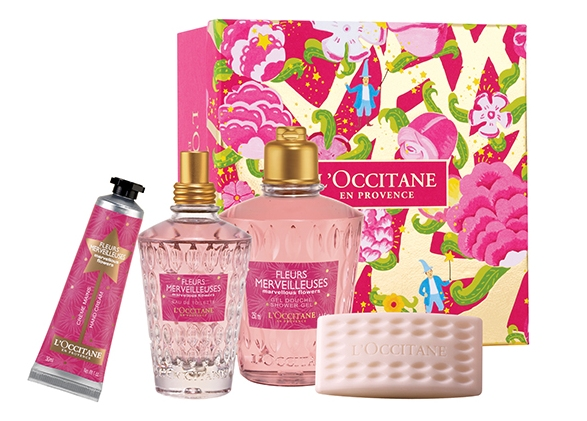 loccitane marvelous flowers gift box