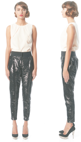 Rachel Sin Sequin Pants