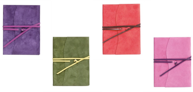 Soft Suede Wrap Journal