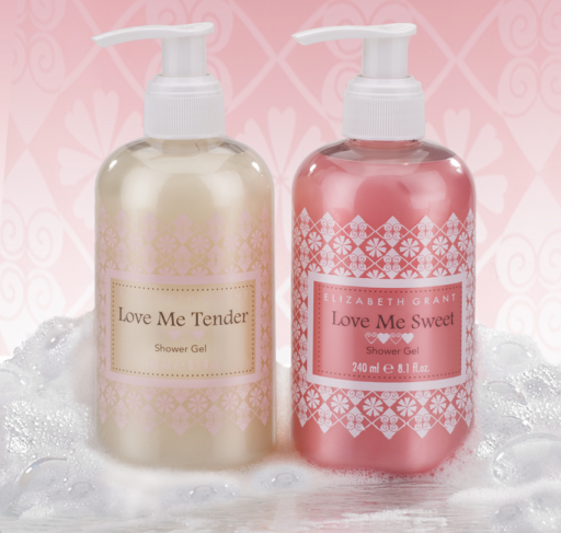 Elizabeth Grant Love Me Tender Love Me Sweet Shower Gel Duo