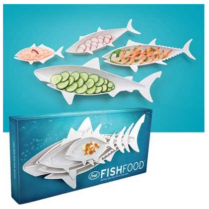 Fred and Friends Fish Food Trays