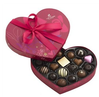 Grand Heart Box of Chocolates