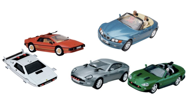 James Bond Model Car Kits