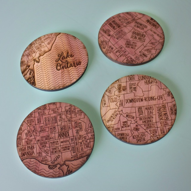 Neighborwood Coasters