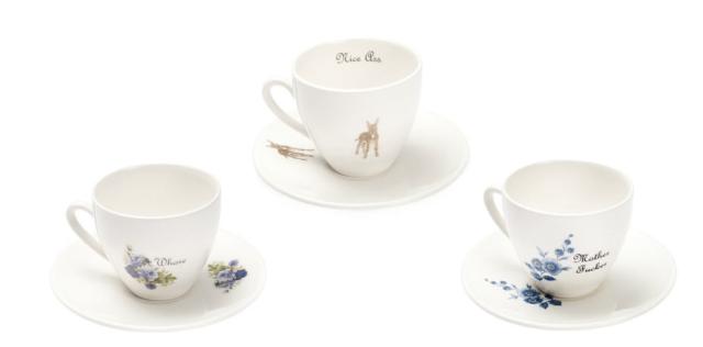 Outlandish Teacups