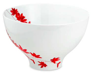 Pure Red 9 3:4%22 Salad Bowl