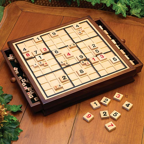 Wooden Delux Sudoku Board Game