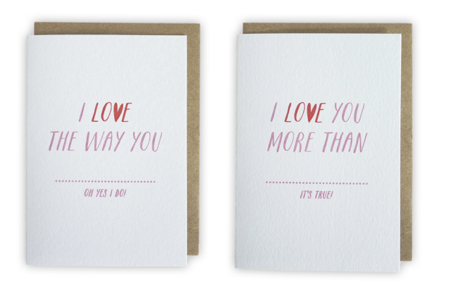 I Love You Cards Sarah Phelps Creative
