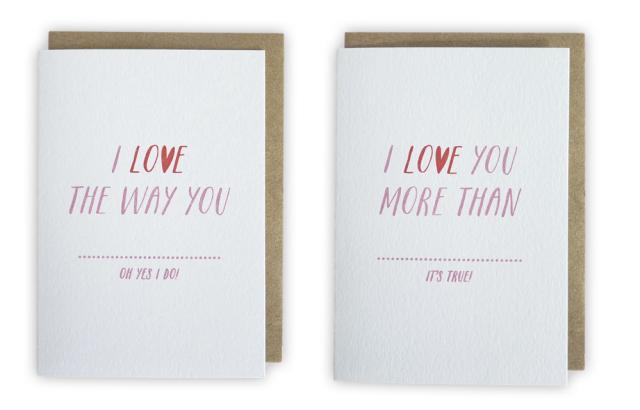 I Love You Cards Sarah Phelps Creative