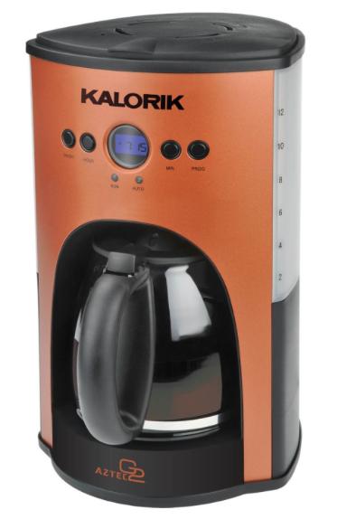 Kalorik CM 25282 AZ 1000-Watt 12-Cup Programmable Coffeemaker