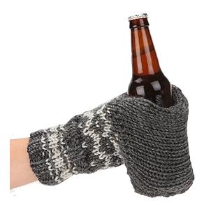 Knit Glove Drink Holder