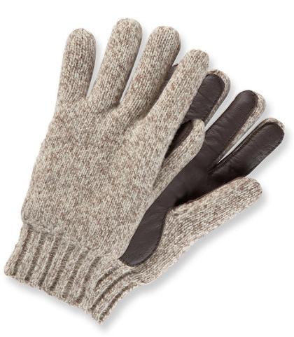LL Bean Rag Wool Gloves