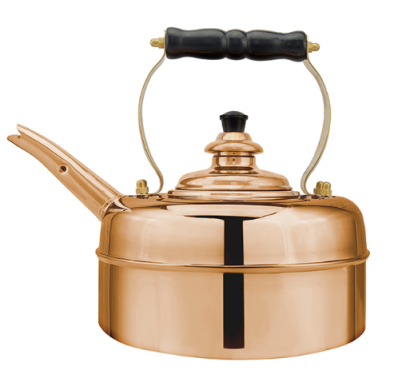 Simplex Bright Copper Kettles
