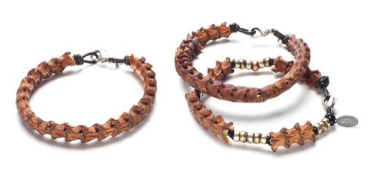 Snake Vertebrae Bracelet Set