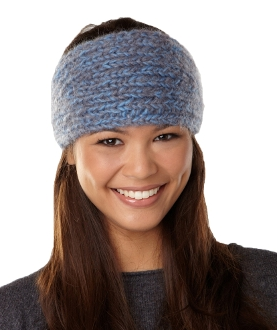 YAK Apparel Blue Melange Head Wrap