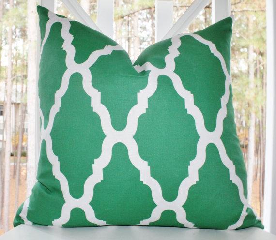 Emerald Pillow