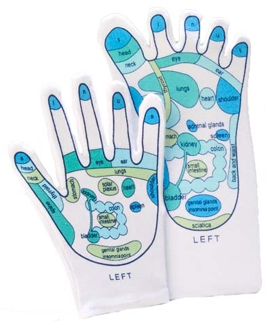 Reflexology Mitt and Sock