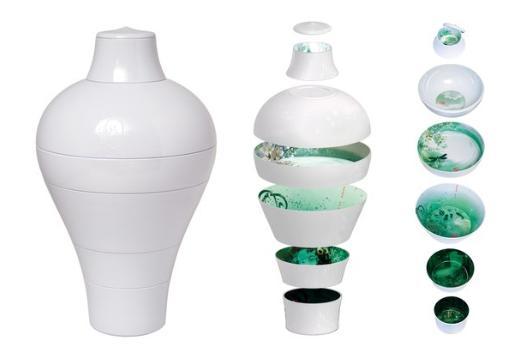 White Ming Vase