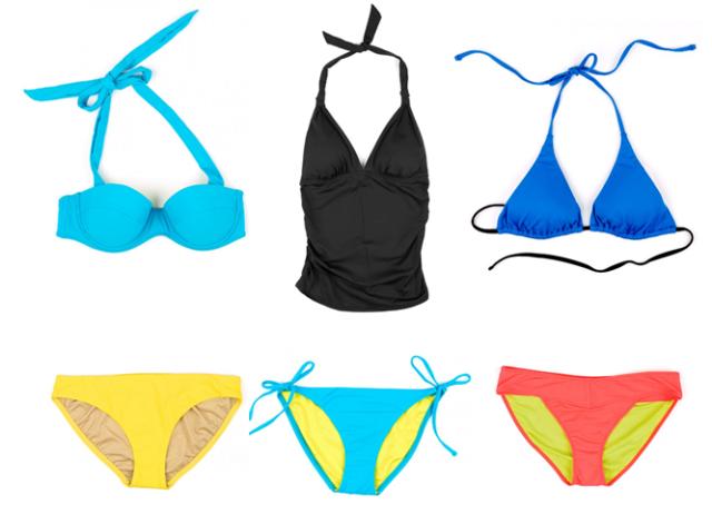 Echo Solid Swimwear
