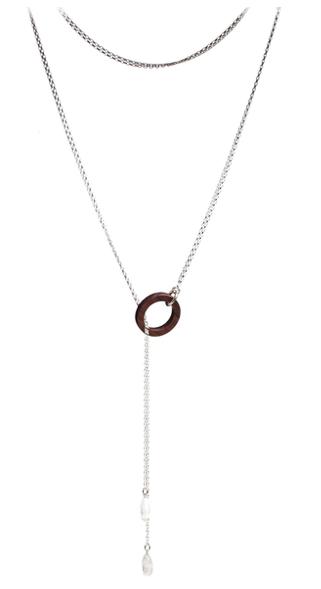 Liel and Lentz Tie Necklace