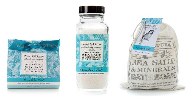 Pearl and Daisy Bath Salts