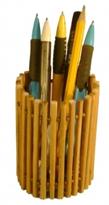 Recycled Chopstick Holder
