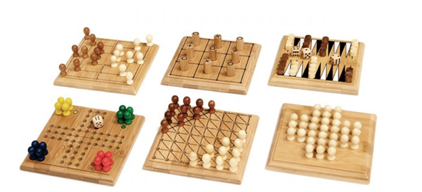 Travel-Size Bamboo Games