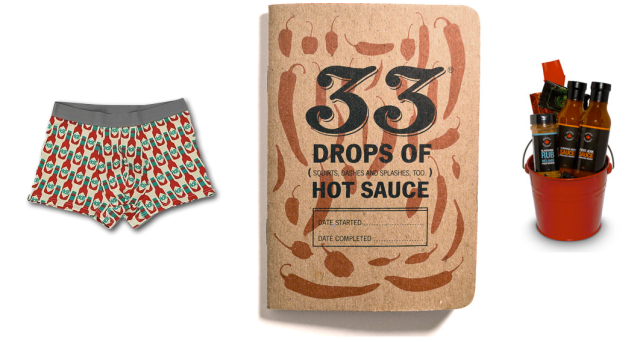 33 Books Hot Sauce