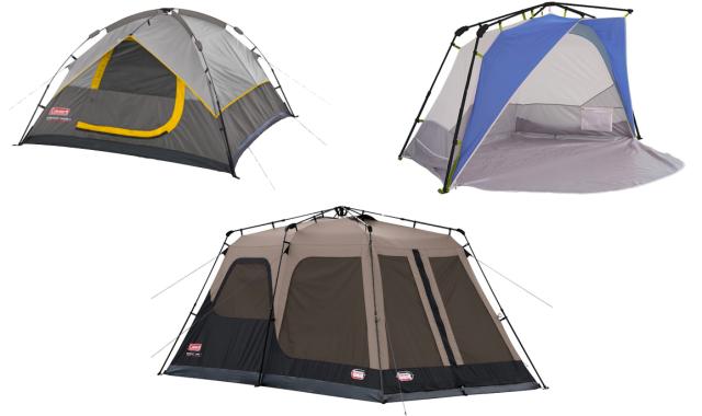 Coleman Instant Tents