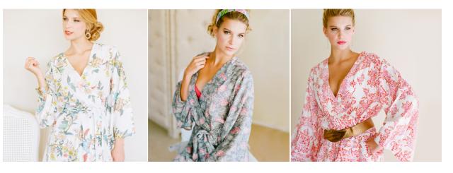 Plum Pretty Sugar Kimono Robes