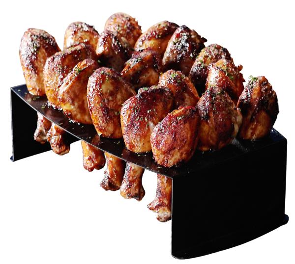Chicken Leg Griller & Jalapeno Roaster