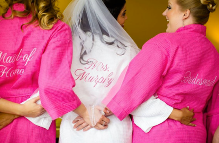 Embroidery By Melissa Spa Robes