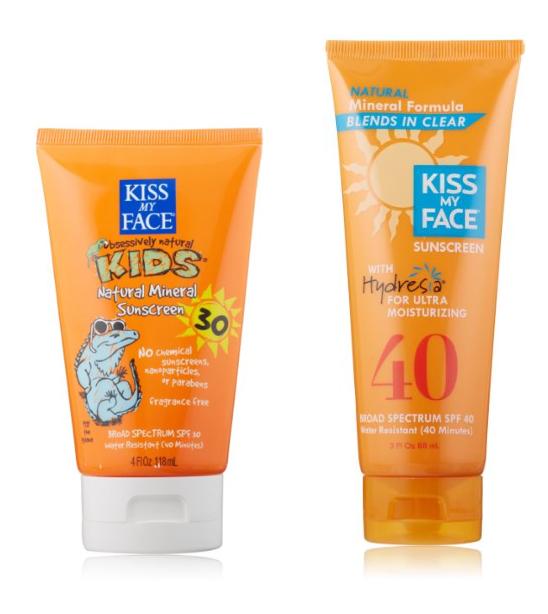 Kiss My Face Natural Sunscreens