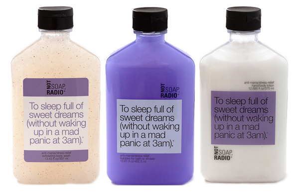 Not Soap Radio To Sleep Gift Set