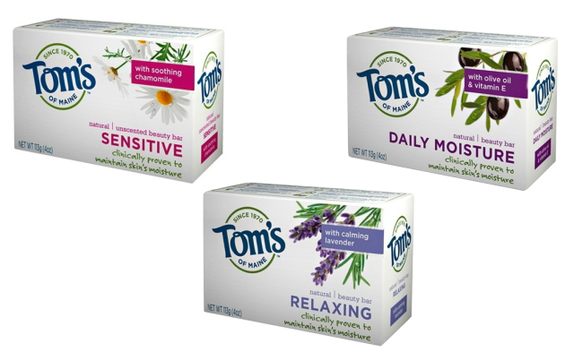 Tom's of Maine Beauty Bars