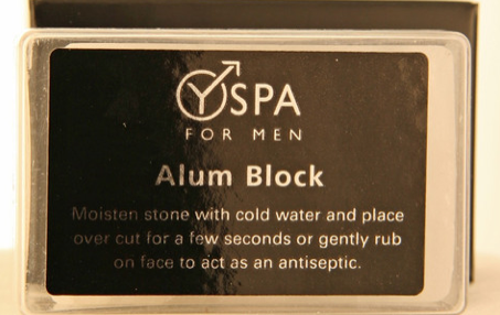 Y Spa Alum Block